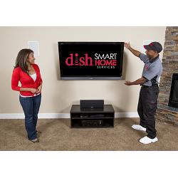 """Install TV w/ Tilt Bracket 41""""-80""""  -   $299.99"""