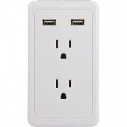 Surge Protector  2 Outlet  2 USB   -  $19.99