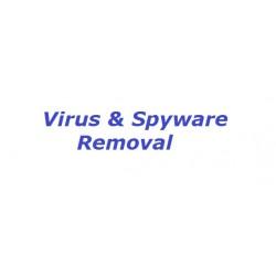Virus & Spyware Removal  -  $99.99